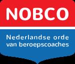 Logo van Nobco. Nederlandse Orde van Beroepscoaches